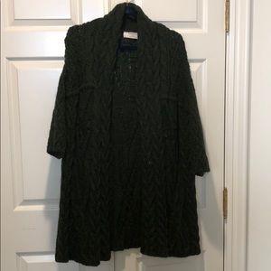 Gorgeous Zara Dark green long cardigan
